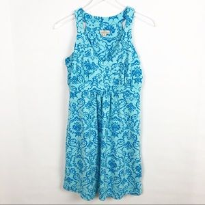 TEHAMA | Blue Print Summer Dress